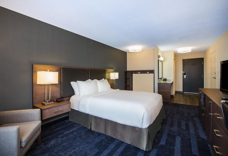 Holiday Inn & Suites Grande Prairie Conference Center, Grande Prairie, Rom, 1 queensize-seng, handikappvennlig, ikke-røyk (Wheelchair), Gjesterom