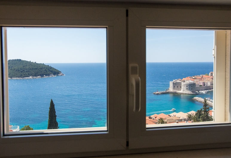 Penthouse the Best Old Town View, Dubrovnik, Gallery-Penthouse, 2 Schlafzimmer, Terrasse, Meerblick (THE BEST OLD TOWN VIEW), Ausblick vom Zimmer