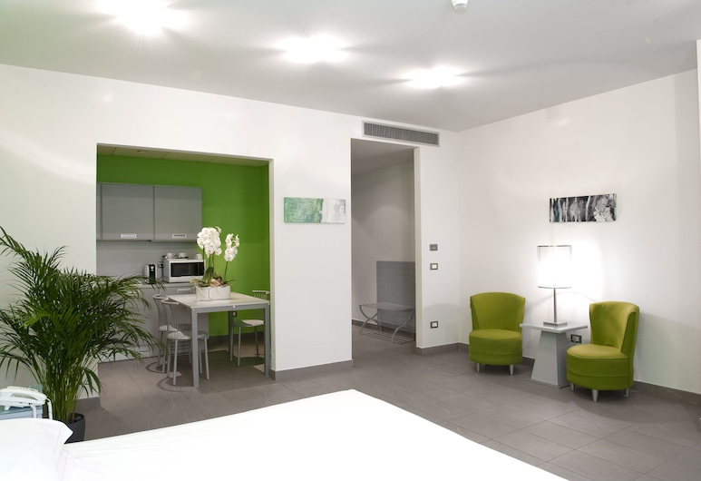 PopArtment, Florence, Studio Klasik, 1 kamar tidur, akses difabel, dapur, Kamar