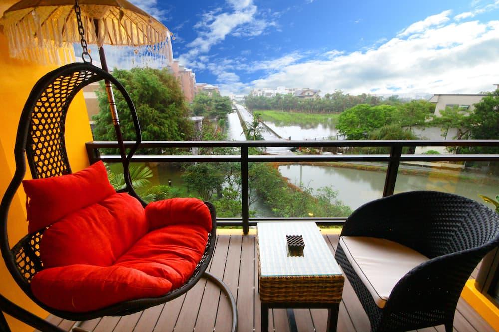 Mestský dom typu Deluxe, výhľad na rieku - Balkón