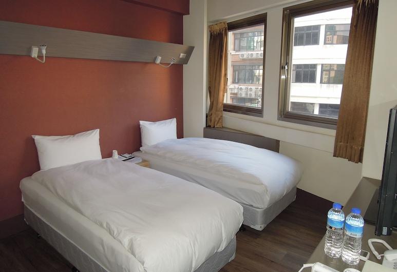 台北銀河旅館, 台北市, 雙床房, 城市景, 客房