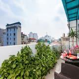 Suite Junior, 1 chambre, vue ville - Vue depuis le balcon