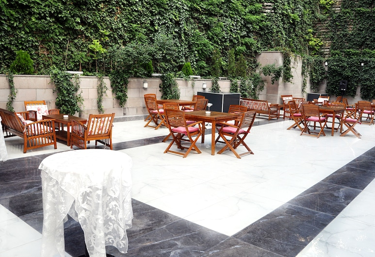 Notte Hotel, อังการา, สวน