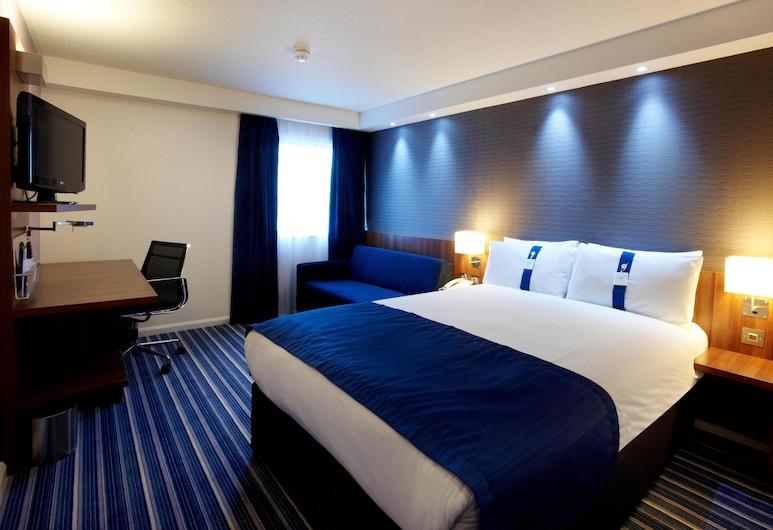 倫敦展覽中心智選假日飯店, 倫敦, 客房, 1 張加大雙人床和 1 張沙發床, 非吸煙房, 客房
