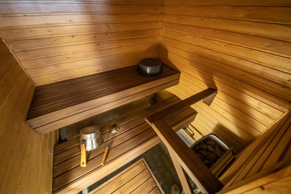 Standartinio tipo kotedžas, 1 miegamasis, sauna - Vonios kambarys