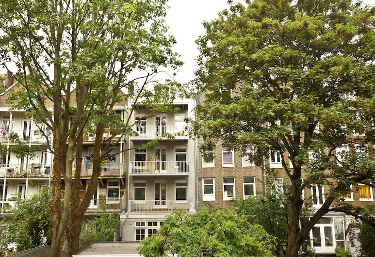 Cityden Residences Jordan Canal, Amsterdamas, Liukso klasės apartamentai, 2 miegamieji, balkonas, vaizdas į kanalą, Svetainės zona