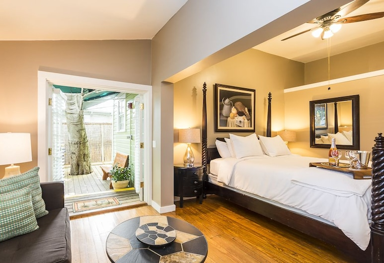 L'Habitation Guest House, Key West, Deluxe Room, 1 King Bed, Guest Room View
