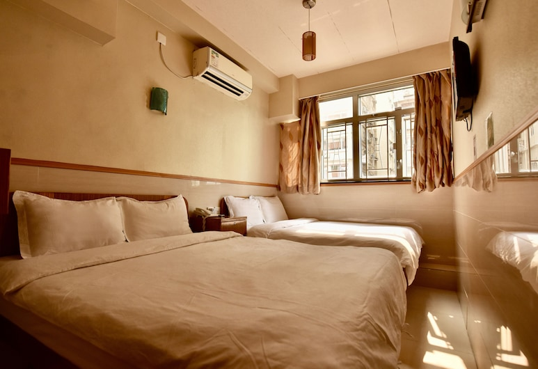 Wonderful Inn, Kowloon, Quadruple Room, Guest Room