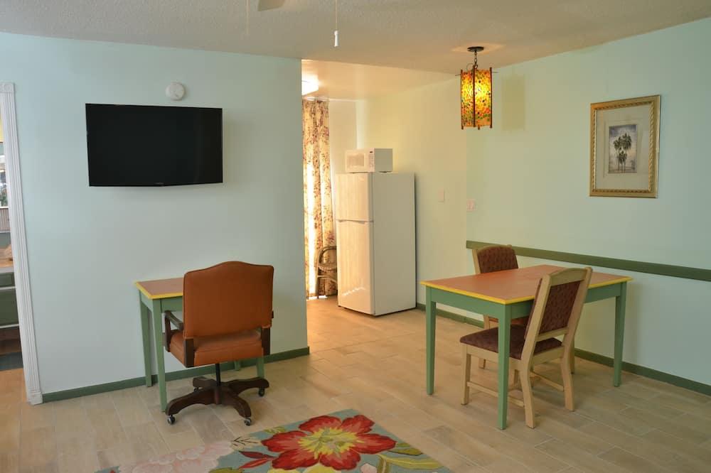 ห้องดีลักซ์, เตียงควีนไซส์ 2 เตียง - บริการอาหารในห้องพัก