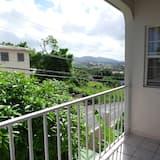 Apartamentai, 2 miegamieji (Top Floor) - Balkonas