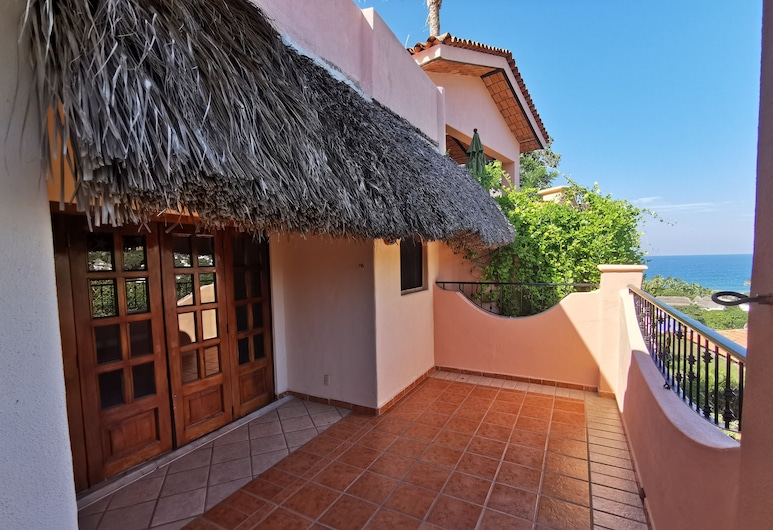 Villas Vista Suites, Sayulita, Suite Ocean view - King size, Z widokiem na dziedziniec