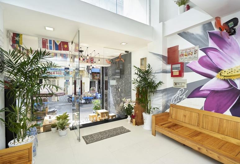 New Saigon Hostel, Ho Chi Minh City, Lobby