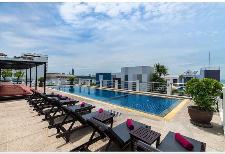 シー メ スプリング ホテル, パタヤ, 屋外プール