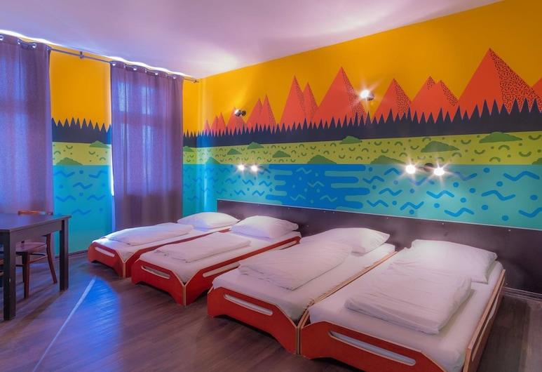 Sunflower Hostel Berlin, Berlin, Gemeinsamer Schlafsaal (Mixed Dorm - 4 Beds), Zimmer