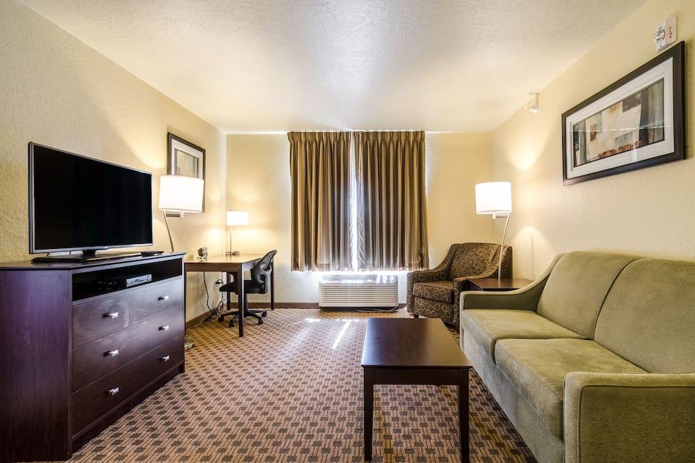 套房, 多張床, 無障礙, 非吸煙房 - 客廳
