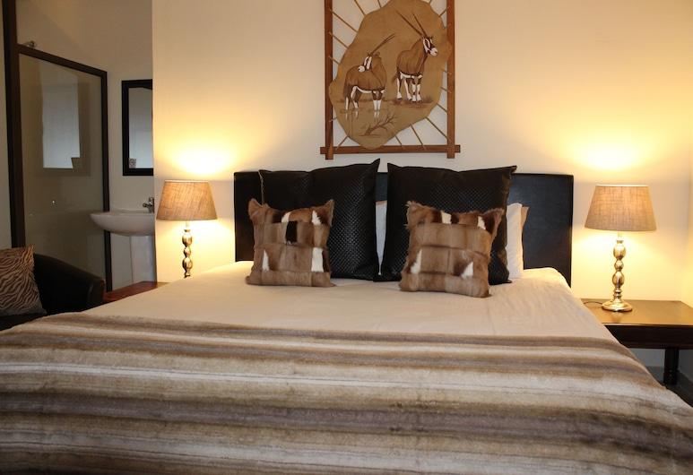 African Footprints Lodge, Блумфонтейн, Двухместный номер с 1 двуспальной кроватью, Номер