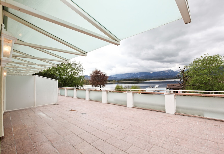 Hotel San Marco, Füssen, Condominio Grand, Varias camas (large), Terraza o patio