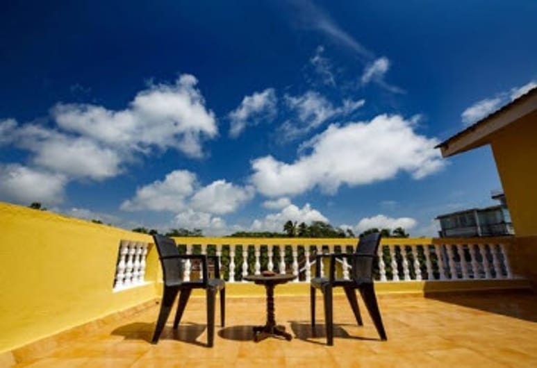Marina Bay Beach Resort, Candolim, Σουίτα, 1 Υπνοδωμάτιο, Θέα στον Κήπο (Penthouse), Μπαλκόνι