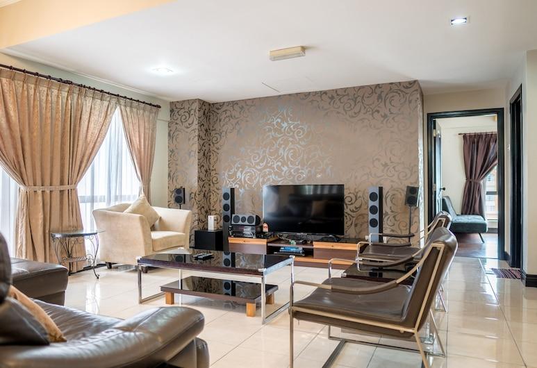 北婆羅洲樂園 @濱海庭院度假公寓, 亞庇, 行政頂樓客房, 客廳