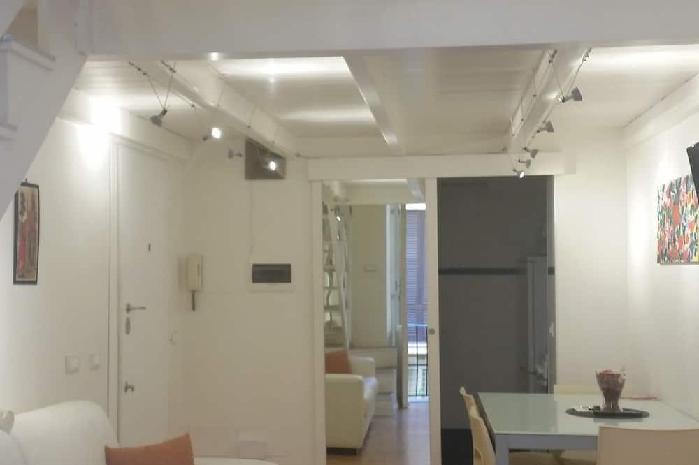 Family Studio, 1 Bedroom, Kitchen - Living Area