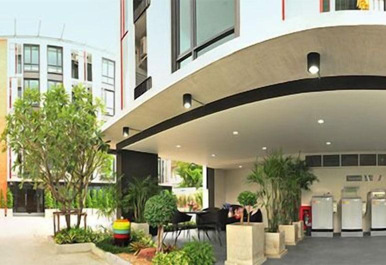 Marigold Ramkhamhaeng Boutique Apartment, Bankokas, Viešbučio fasadas
