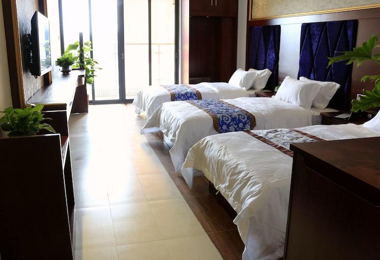 広州ジュンイエ インターナショナル ホテル (广州骏业酒店), 広州, トリプルルーム, 部屋からの眺望