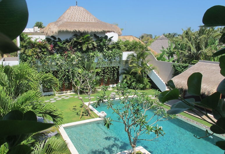 Villa Chocolat, Seminyak, Villa, 6 Bedrooms, Private Pool, View from room
