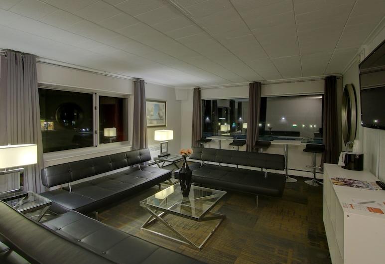 Hotel Royal Oak, Royal Oak, Signature-Penthouse, 2Schlafzimmer, Küche, Executive-Etage, Zimmer