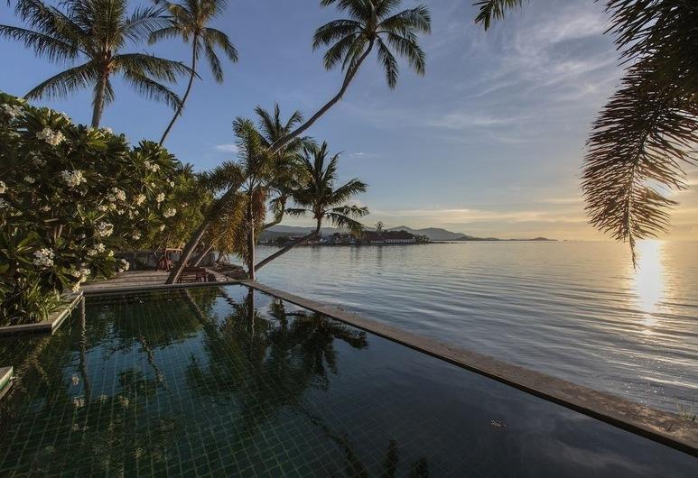 海灘之家, 蘇梅島, 室外泳池