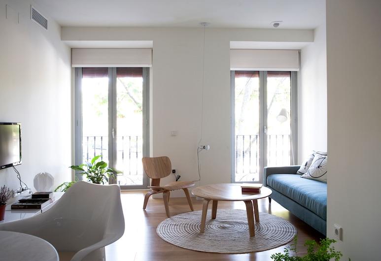 60 Balconies Urban Stay, Madrid, Appartement, 1 chambre, Salle de séjour