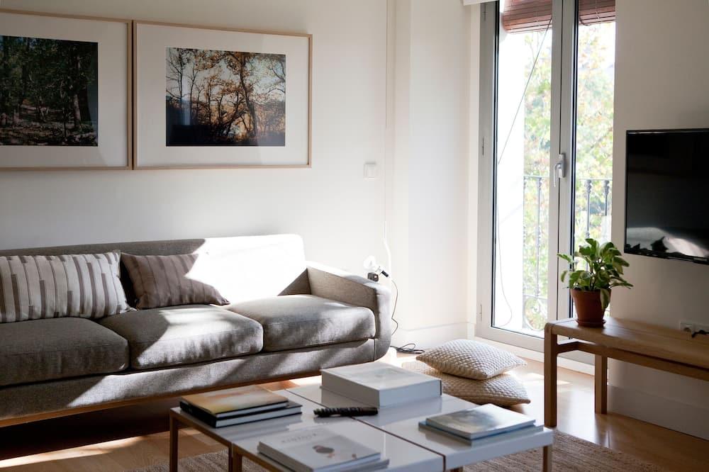 Apartamento, 3 habitaciones, 2 baños - Living Room