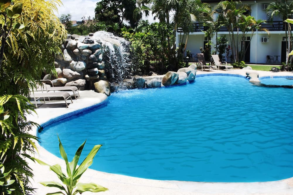 Family Room, Garden View - Outdoor Pool