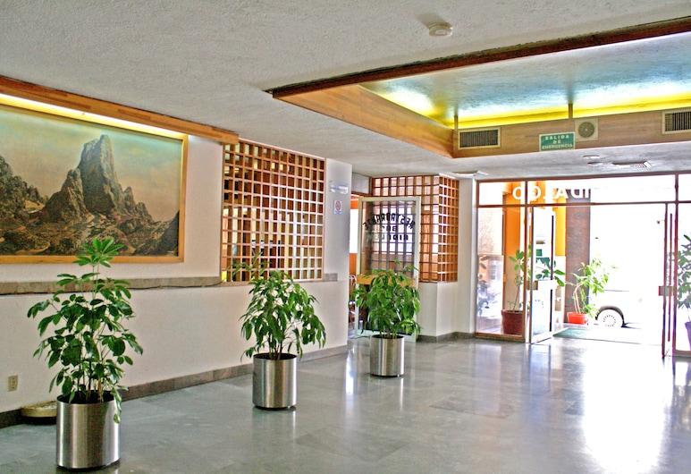 Hotel Hidalgo, Mexiko-Stadt, Eingangsbereich
