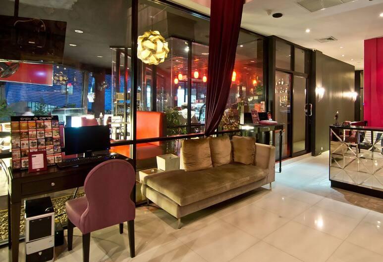 Glitz Bangkok Hotel, Bangkok, Lobby Sitting Area