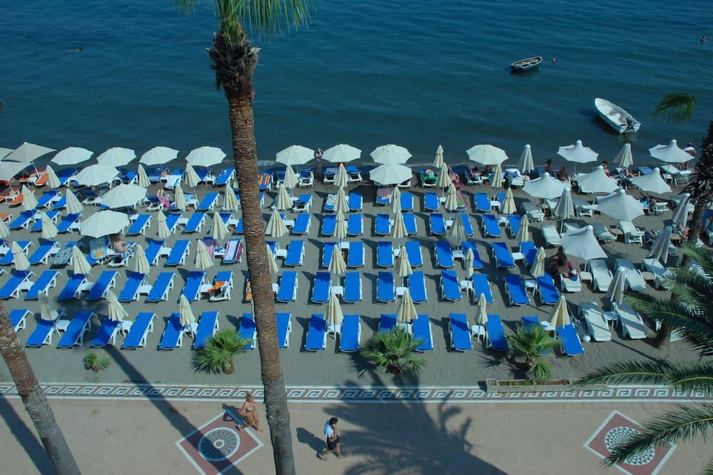 Standartinio tipo kambarys, vaizdas į jūrą - Paplūdimys