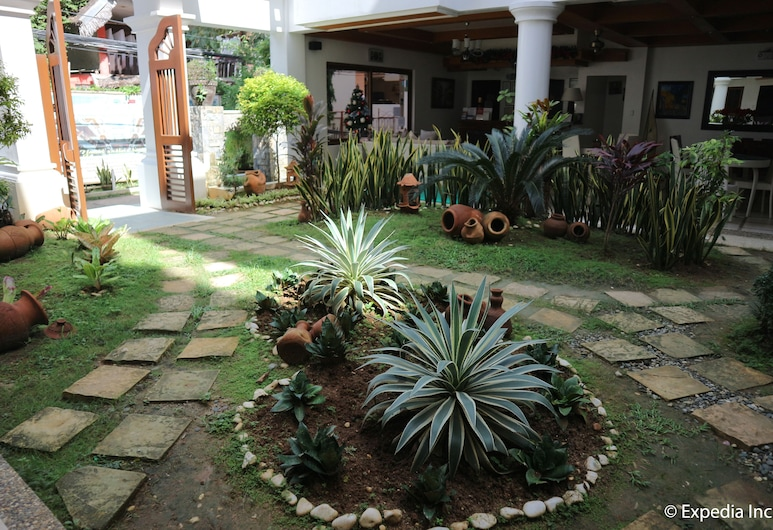 Giulius Boracay Italian Resort, Boracay Island, Trädgård