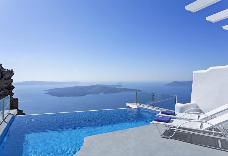 Pegasus Suites & Spa, Santorini, Villa, Private Pool (Infinity), Terrace/Patio