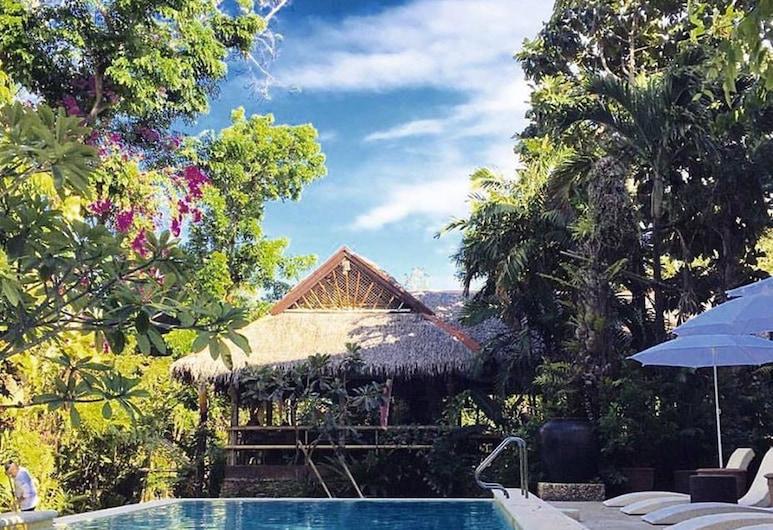 The Sun Villa Resort and Spa Hilltop, Boracay Island, Lauko baseinas