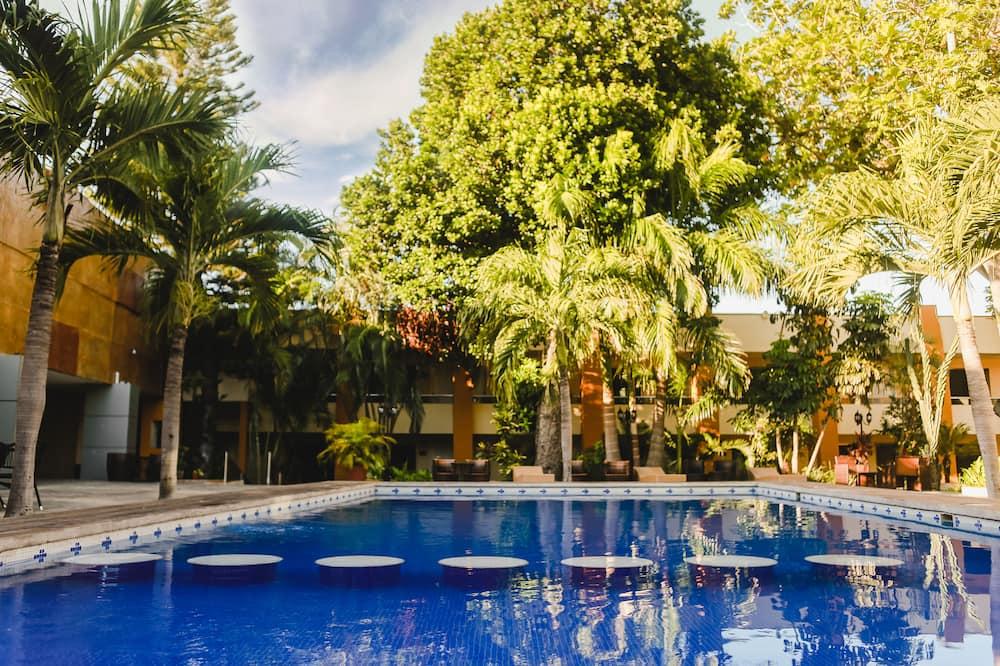 prabangus dvivietis kambarys - Lauko baseinas