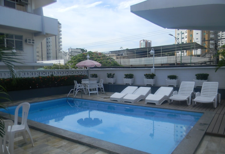 Boulevard Slaass Flat Hotel, Manaus, Vonkajší bazén