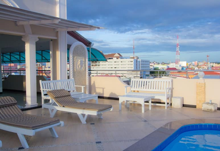 LK Mansion, Pattaya, Rooftop Pool