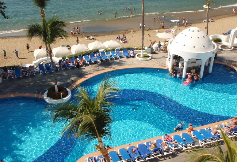 Sierra Mar All Inclusive at Tesoro, Manzanillo, Piscina al aire libre