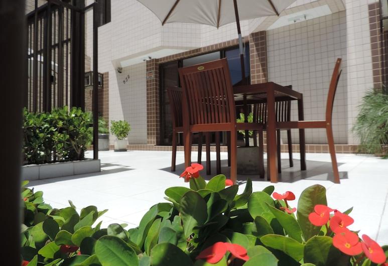 Iracema Mar Hotel, Fortaleza, Αίθριο/βεράντα
