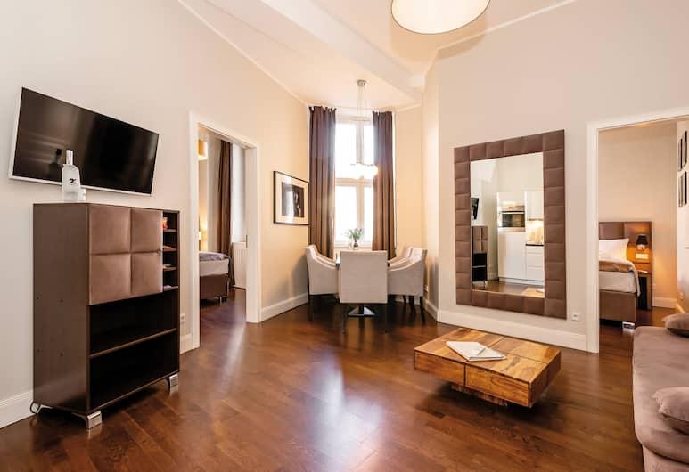 arabel Design Apartments Berlin, Berlin, Superior Apartment, Living Area