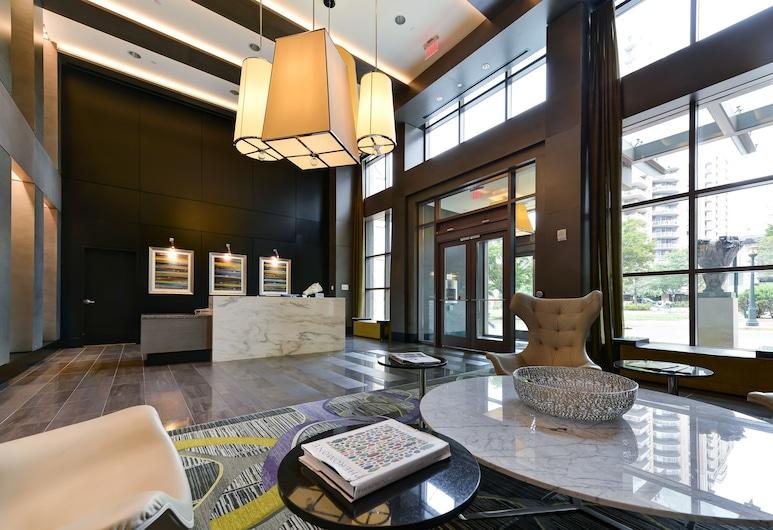 布里奇街阿萬特公寓飯店, 雷斯頓, 入口