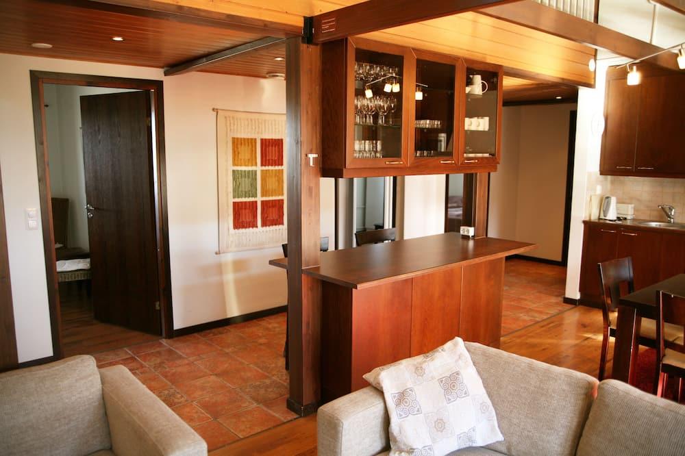 豪華公寓, 6 間臥室, 三溫暖 - 客廳