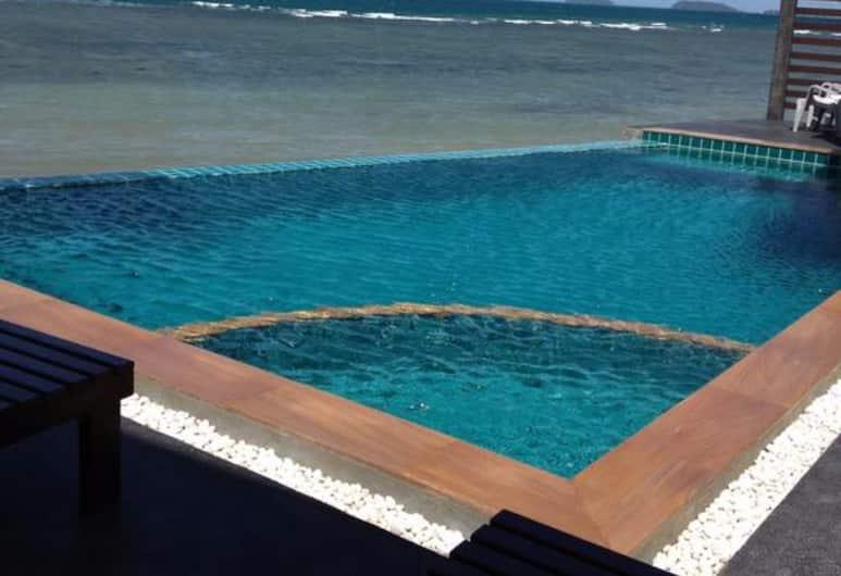 Rin Bay View Resort, Ko Pha-ngan, Kültéri medence