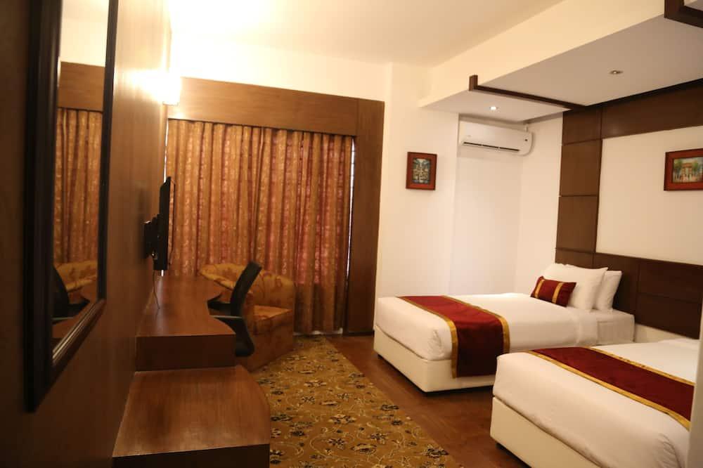 Phòng 2 giường đơn Deluxe - Phòng khách
