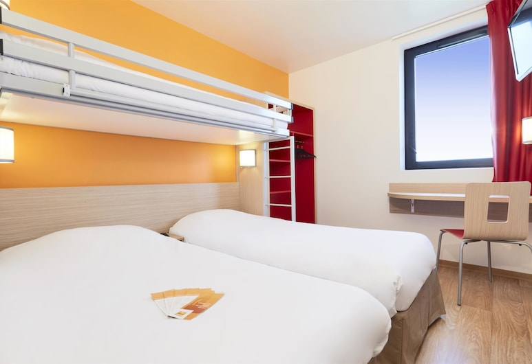 Premiere Classe Bordeaux Ouest - Mérignac Aéroport, Merignac, Standartinio tipo trivietis kambarys, 3 viengulės lovos, Svečių kambarys