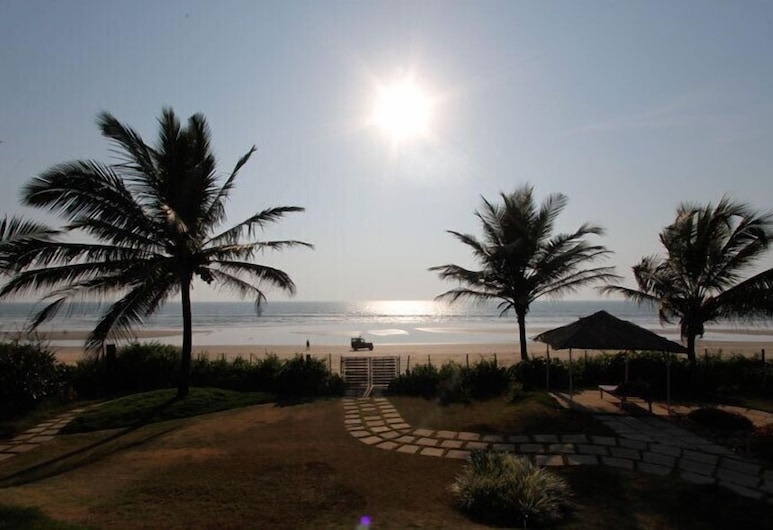 The Beach House Goa, Colvá, Vista a partir do Hotel